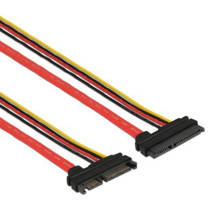 SATA kabel met voeding 0.2 meter