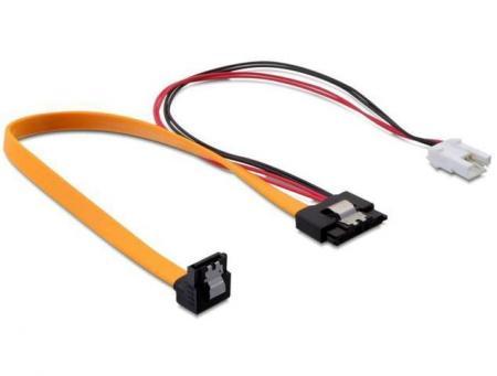 SATA kabel met voeding 0.3 meter