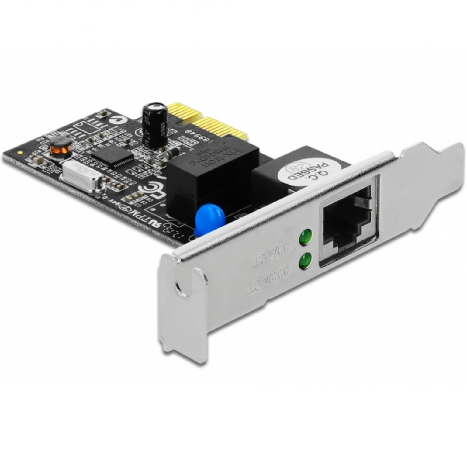 PCI Express Kaart � Bedraad Netwerk Snelheid: 1000 Mbps