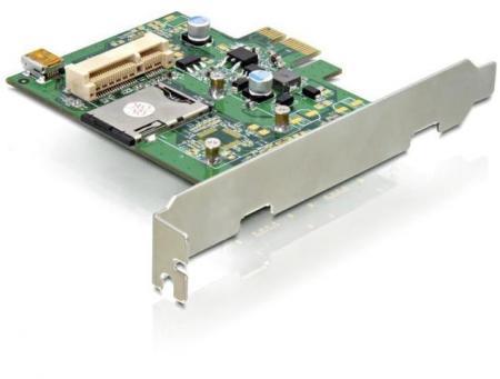 PCI Express Kaart - Mini PCI Express- + SIM-Slot Geschikt t/m: Windows 7