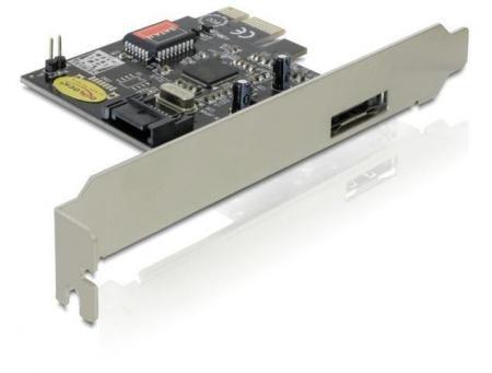 PCI Express Kaart -eSATA Geschikt t/m: Windows Vista x64, Linux, Mac OS