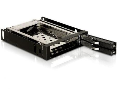 """Image of 3.5"""" Mobile Rack voor 2x 2.5"""" SATA"""