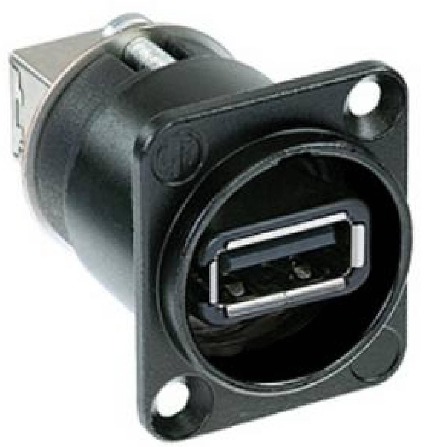 NAUSB USB omvormer zwart