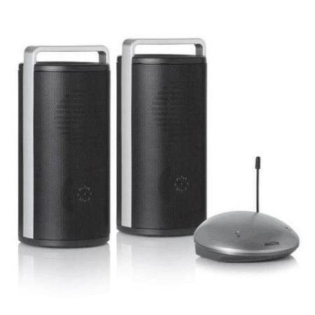 2.4 GHz Draadloze Digitale Luidsprekerset Merk: Marmitek Speaker Anywhere 200