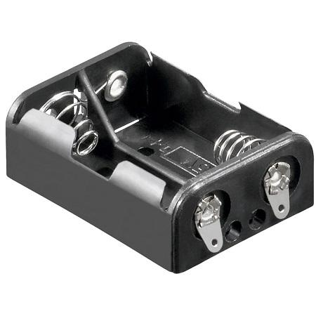 Image of 2x N batterij houder - Goobay