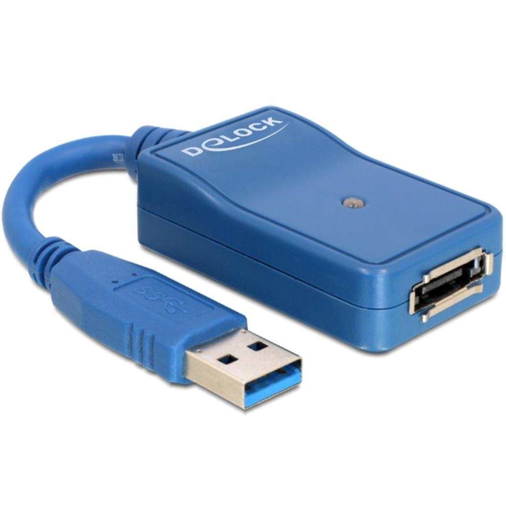USB 3.0 naar eSATA adapter Linux ab Kernel 2.6.31, Mac OS 10.7,