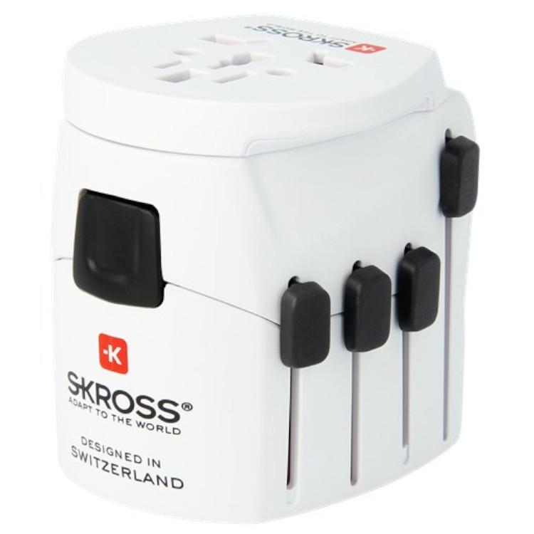 Wereld Reisstekker Adapter - Skross Merk: Skross - World Travel Adapter 3
