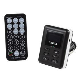 k nig car mp3 fm bt transmitter incl rc luister in de. Black Bedroom Furniture Sets. Home Design Ideas