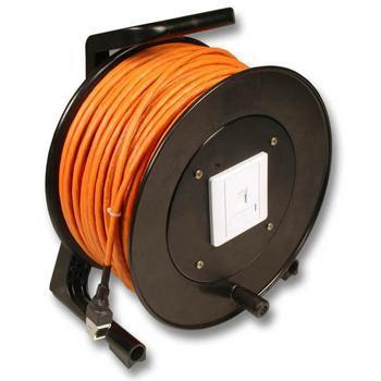 Haspel voor kabel