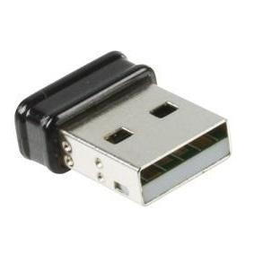 Draadloze USB 2.0 Netwerkadapter 150 Mbps Kleur: Zwart