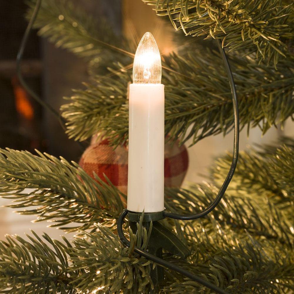 Kerstboom Verlichting - Kaars Verlichte Lengte: 6.75 meter