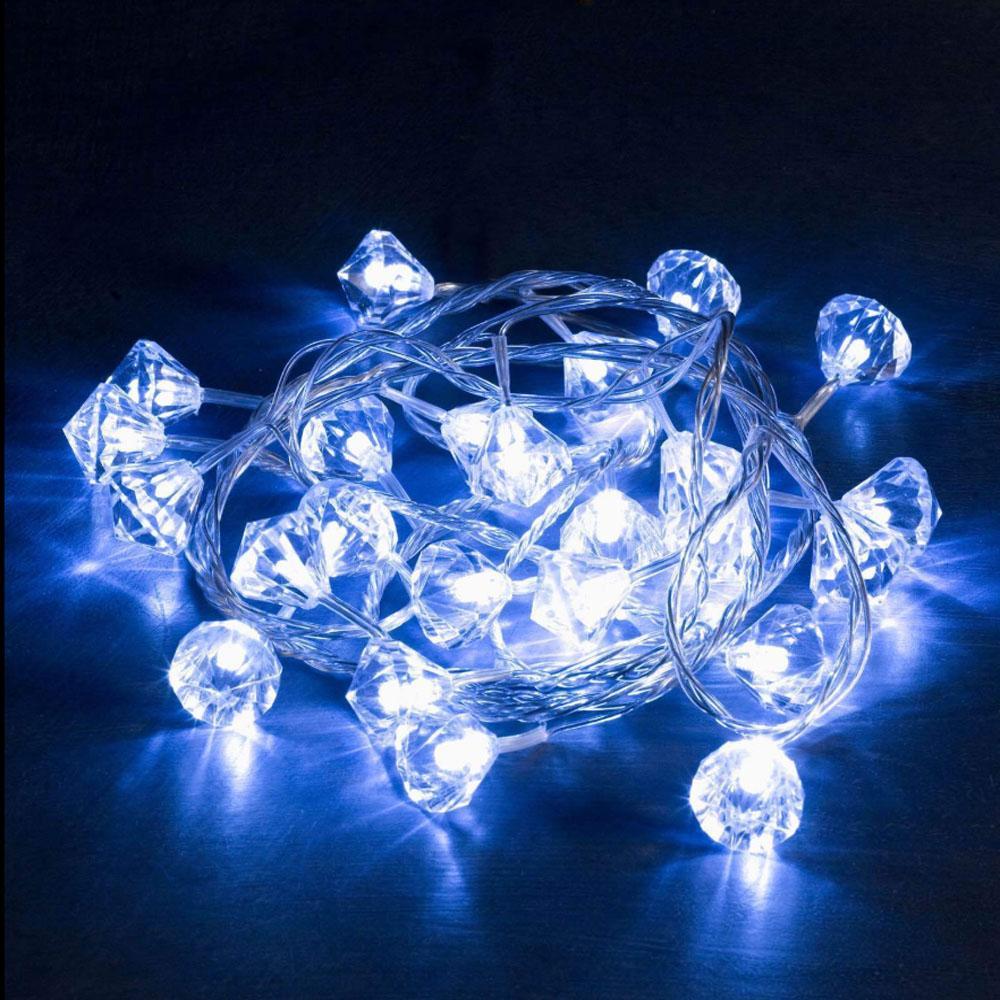 Kerst Decoratieverlichting - Diamant Verlichte Lengte: 2.30 Meter