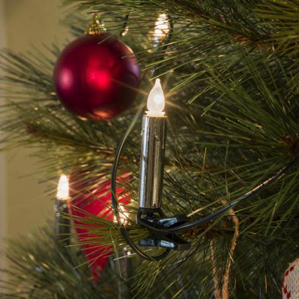 Kerstboomverlichting - Kaars Verlichte Lengte: 5.70 meter