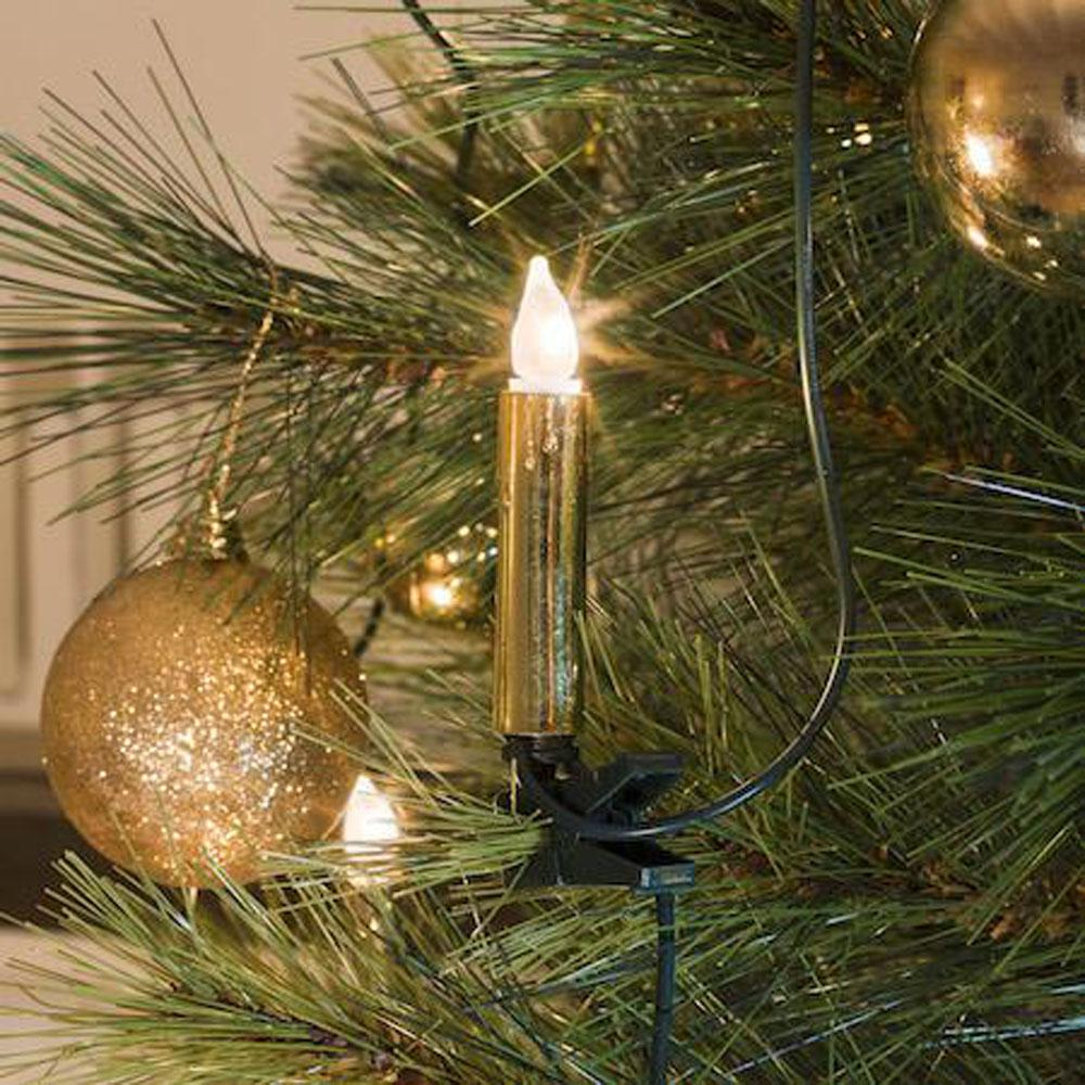 Kerstboom Verlichting -  Kaars Verlichte Lengte: 5.70 meter