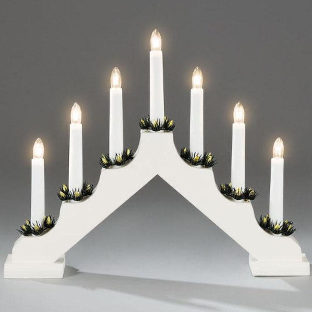 Kerst Kandelaar Afmeting: H31 x B38 cm