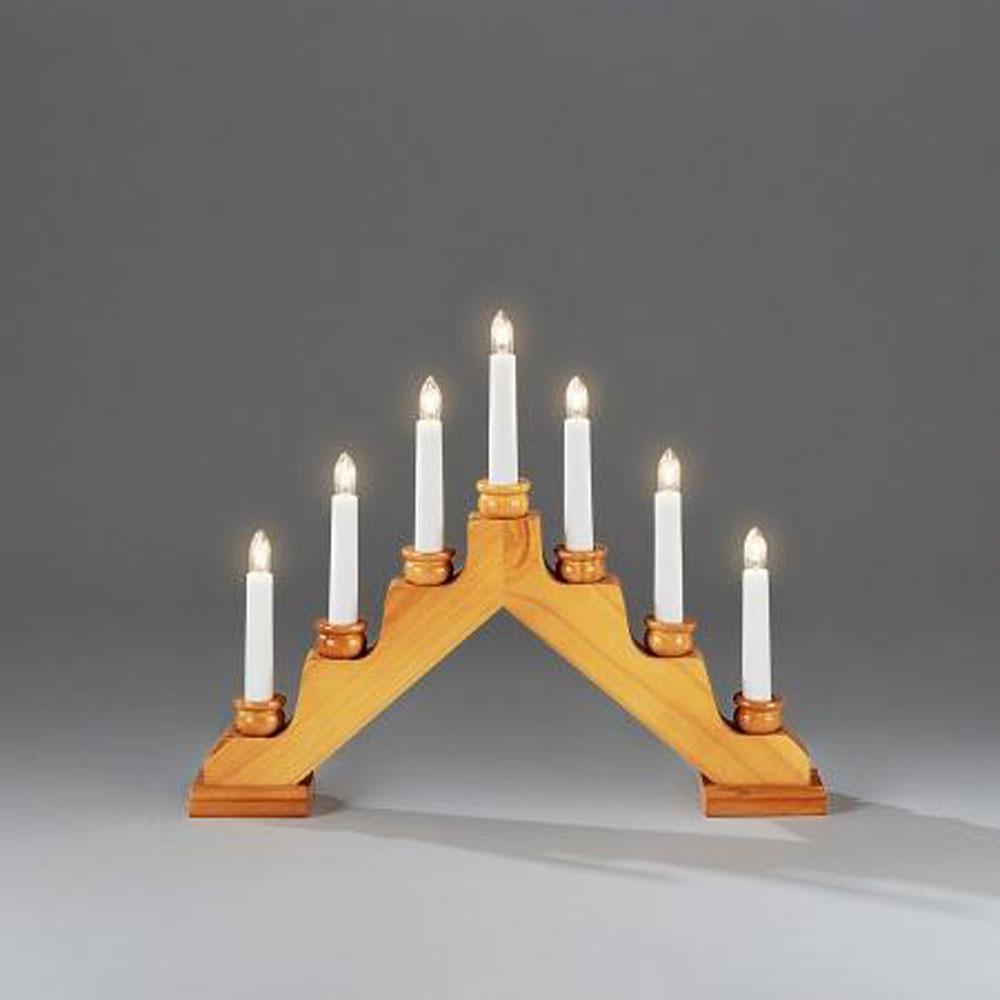 Kerst Kandelaar Afmeting: H31 x B38,5 cm