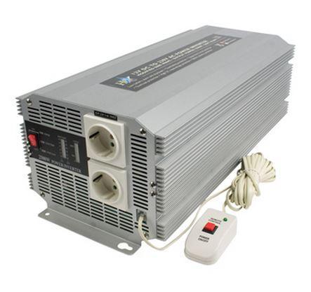 Omvormer 12 volt naar 230 volt