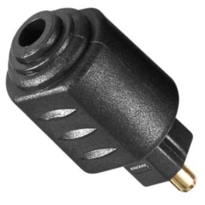 Optische verloopstekker - Mini jack - Toslink Aansluiting 2: Mini Toslink 3.5mm Female
