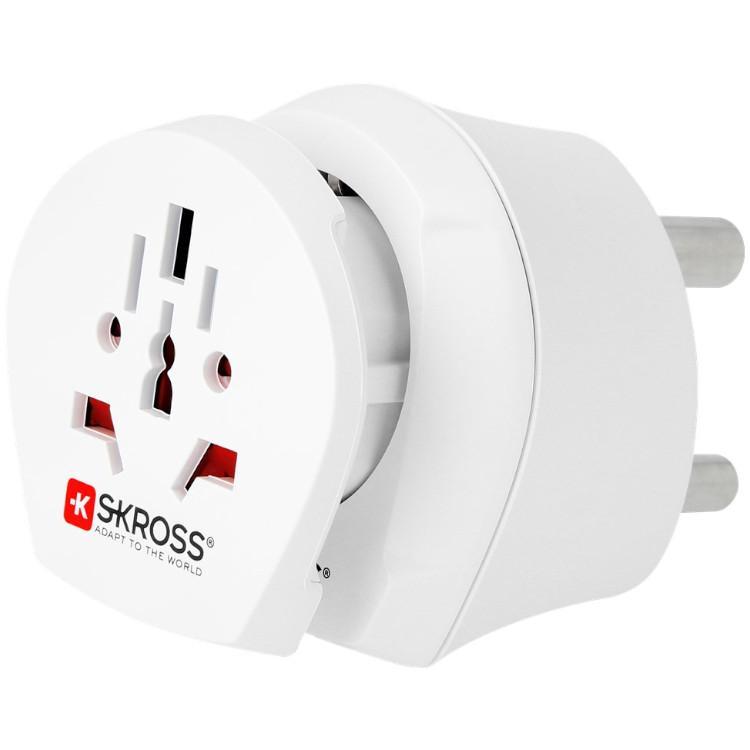 Reisstekker Adapter Zuid-Afrika En Europa - Skross Merk: Skross - Combo Travel Adapter