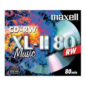 Image of CD-RW - 10 stuks - Maxell