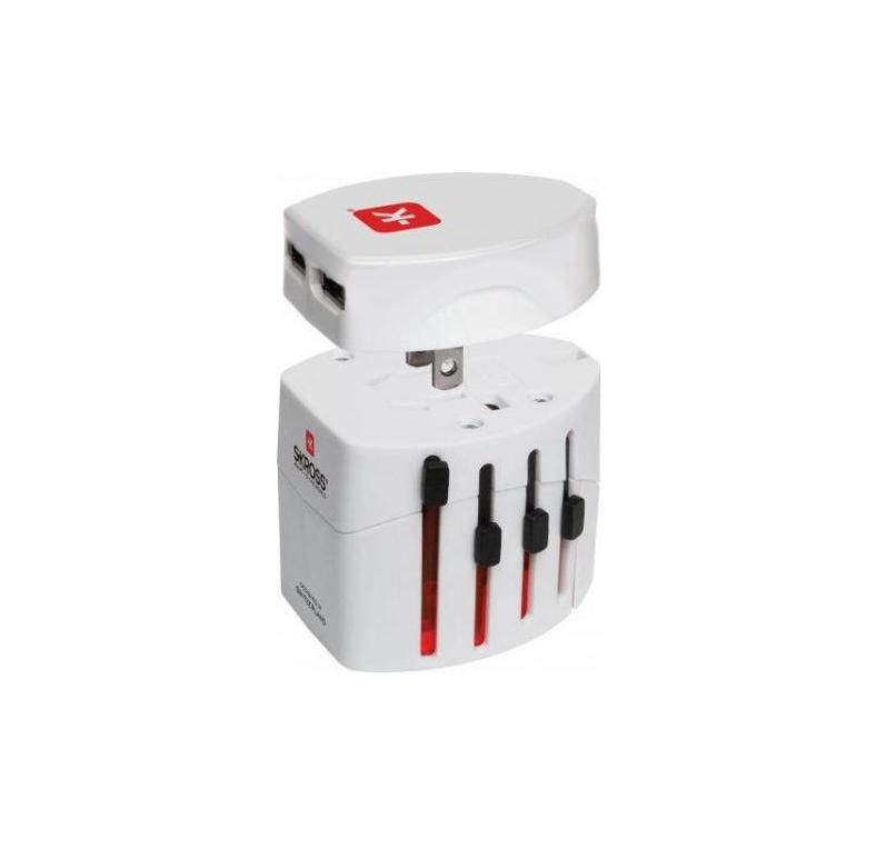 Wereld Reisstekker Met Usb - Skross Merk: Skross - World Travel Adapter 2