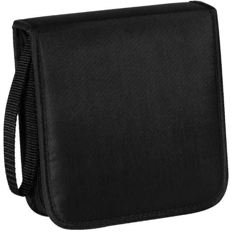 Image of Hama Cd Wallet Nylon 20 Zwart - Hama