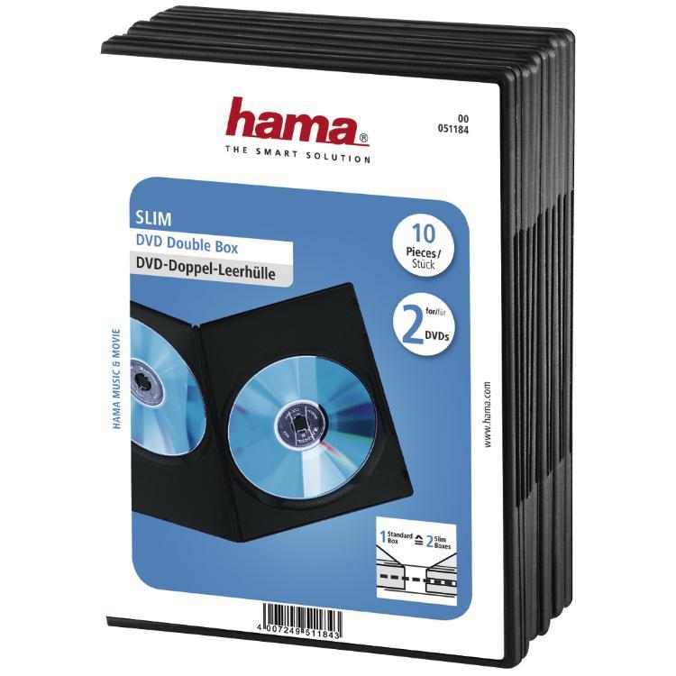 CD/DVD - Hoes Kleur: Zwart