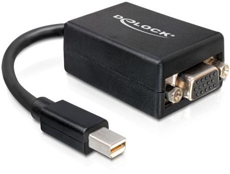 Image of Adap. Displayp. Mini-> VGA 15P Bk
