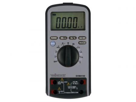MULTIFUNCTIONELE MULTIMETER MET USB-INTERFACE - 6000 COUNTS MULTIFUNCTIONELE MULTIMETER MET USB-INTERFACE - 6000 COUNTS