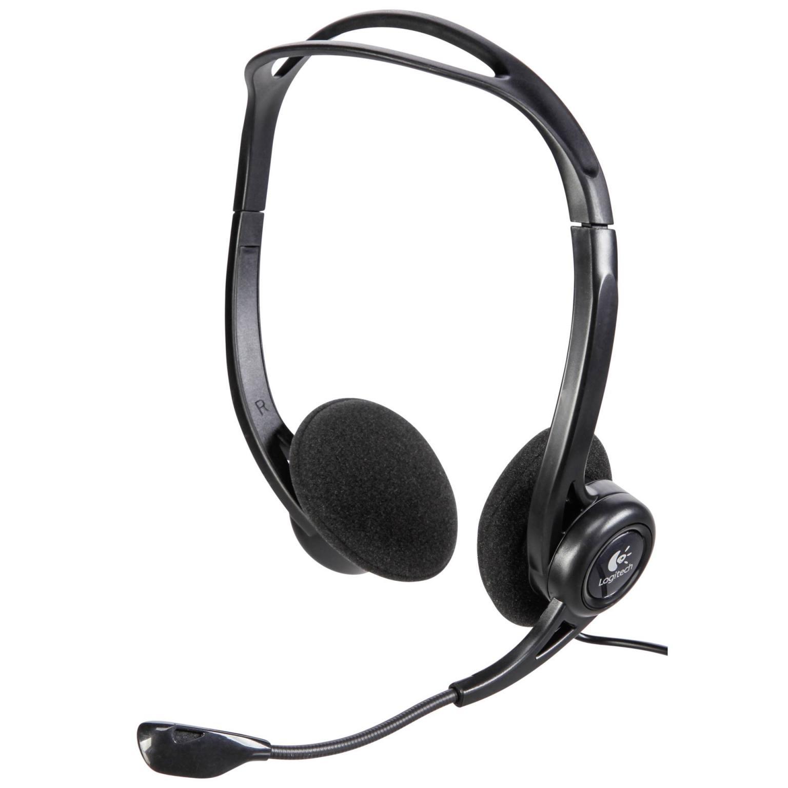 Logitech Headset PC 960 Kopfbügel USB Stereo schwarz
