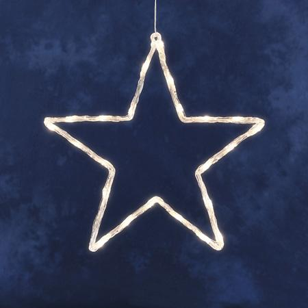 filter kerstster met verlichting