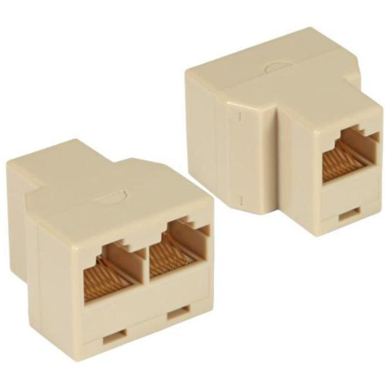 T-modular adapter, RJ45 J/J 1:1, unshielded
