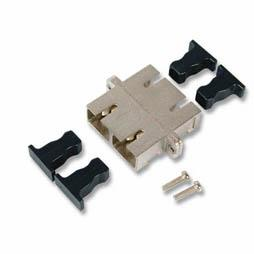 EFB Elektronik koppeling SC-SC-duplex APC singlemode metalen huls