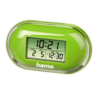 "MINI REISWEKKER FASHION GROEN ""Fashion"" Mini Travelling Alarm Clock, green"