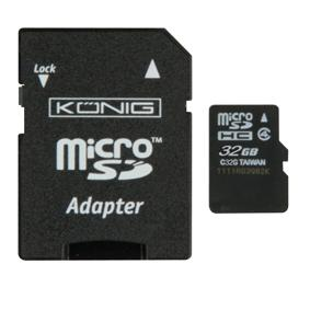 MICRO SD Geheugenkaart 32 GB Capaciteit: 32 GB