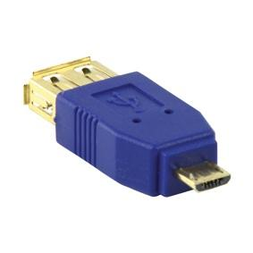 USB Micro Verloopstekker Verguld: Ja