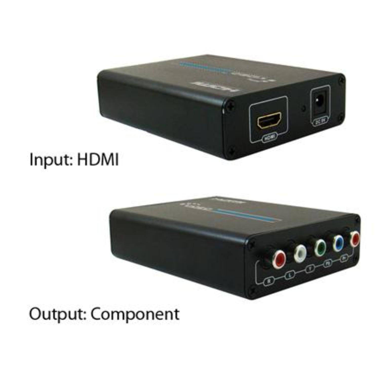 HDMI naar Component Omvormer Maximale Video Resolutie: 1080i