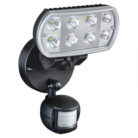 Bewegingsmelder met spot met 8 Nichialedlampjes (elk 1 Watt) Type: opbouw