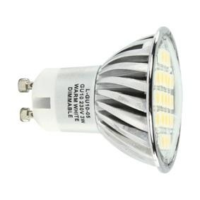 GU10 Lamp - SMD LED Lichtkleur: Warm Wit