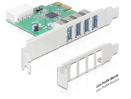PCI express kaart  - USB 3.0 Geschikt t/m: Windows 7 x64
