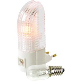 NIGHTLIGHT + 1 SPARE BULB � Kleur: wit