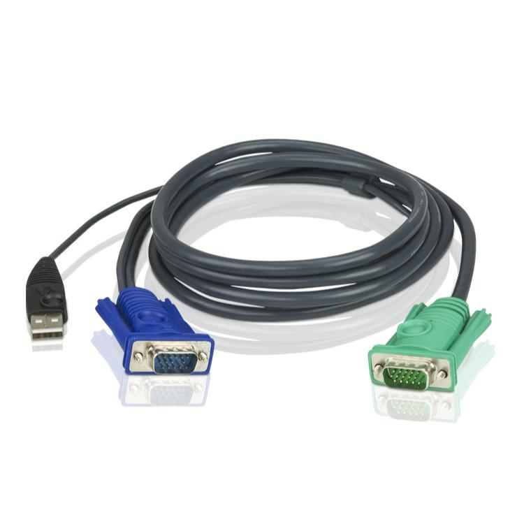 Image of Aten KVM kabel VGA + USB - Aten