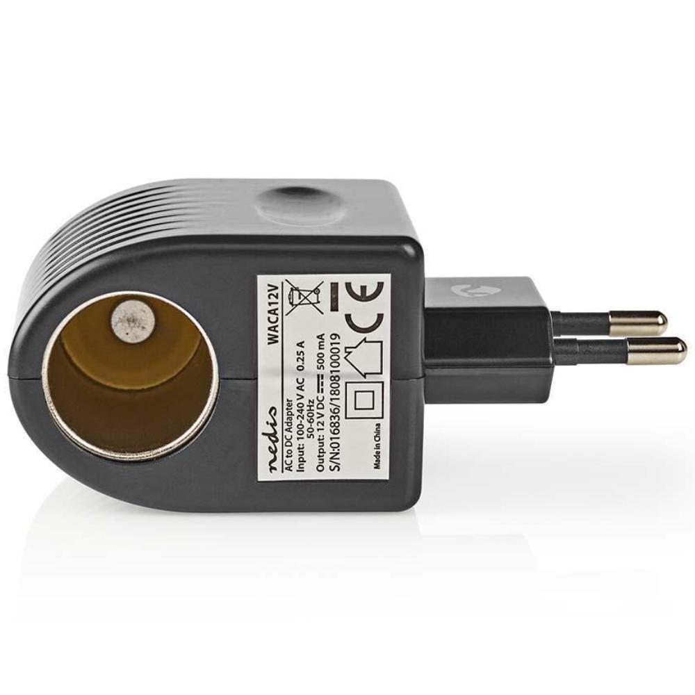 Sigarettenaansteker - Omvormer 230V naar 12V Geschikt voor lichte apparaten (opladers)