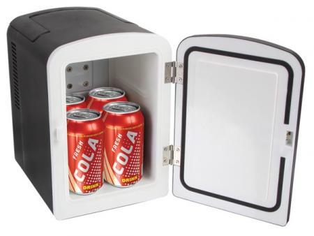 Mini Koelbox 4l 12vdc Amp 230v Ac Zwart Warm Amp Koud
