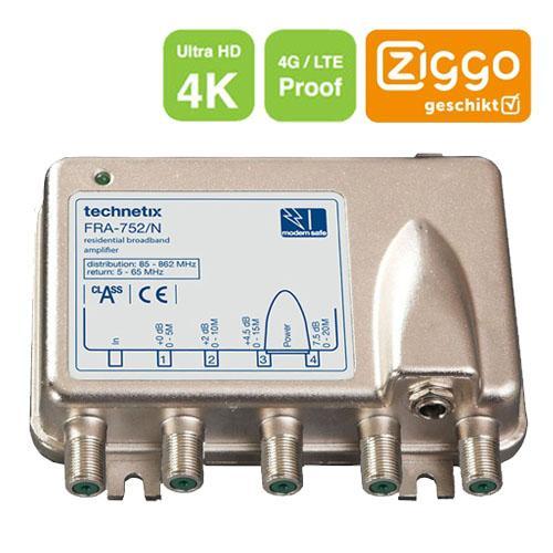 Technetix-Tratec FRA-752/N Antenne versterker Type: Tratec FRA-752/N