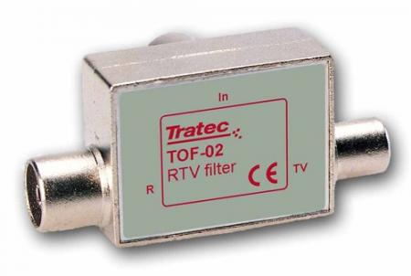 Technetix-Tratec TOF-02 Radio/TV Splitter Uitgang: IEC Male/Female