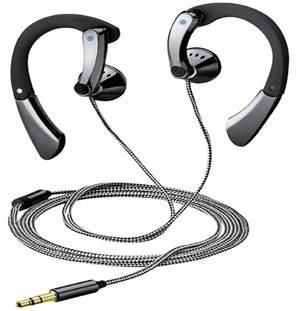 BLAUPUNKT EARPHONE SPORT 111 In-Ear gesloten, 3D-roterende speaker om comfortabel te dragenSpeaker houder en oor band verstelbare3,5 mm vergulde stereo jack connectorFrequentiebereik: 20 - 20.000 HzGeluidsdrukniveau: 110 dBSpeakermaat: 15,4 mmImpedantie: 16 ohmSnoerlengte: 1,2 m