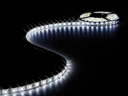 FLEXIBELE LED STRIP - KOUD WIT - 300 LEDs - 5m - 24V FLEXIBELE LED STRIP - KOUD WIT - 300 LEDs - 5m - 24V