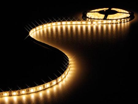 FLEXIBELE LED STRIP - WARM WIT - 300 LEDs - 5m - 24V FLEXIBELE LED STRIP - WARM WIT - 300 LEDs - 5m - 24V
