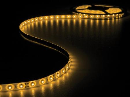 FLEXIBELE LED STRIP - GEEL - 300 LEDS - 5m -12V FLEXIBELE LED STRIP - GEEL - 300 LEDS - 5m -12V